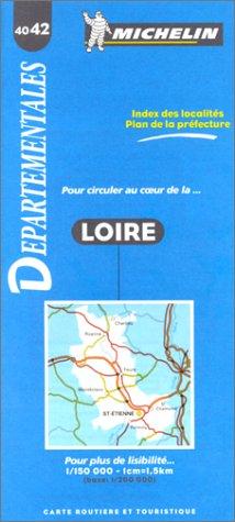 Michelin France Loire #4042 (Michelin Departmental Maps) by Michelin Travel Publications