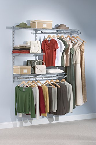 Rubbermaid Configurations Closet Kits 3 6 Ft Titanium