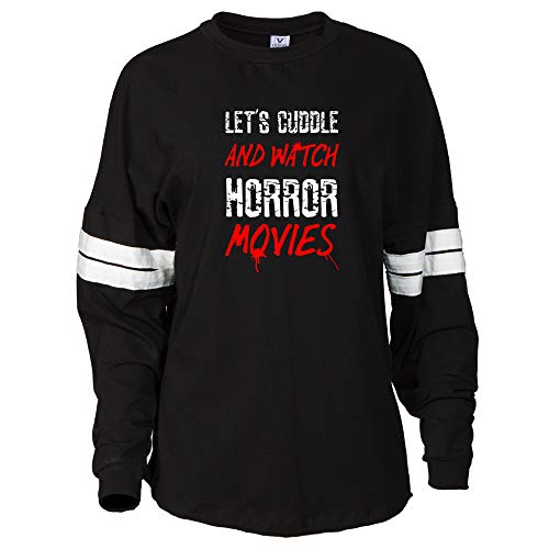 Venley Let's Cuddle Watch Horror Movies, D.S.4267, BWT, M -