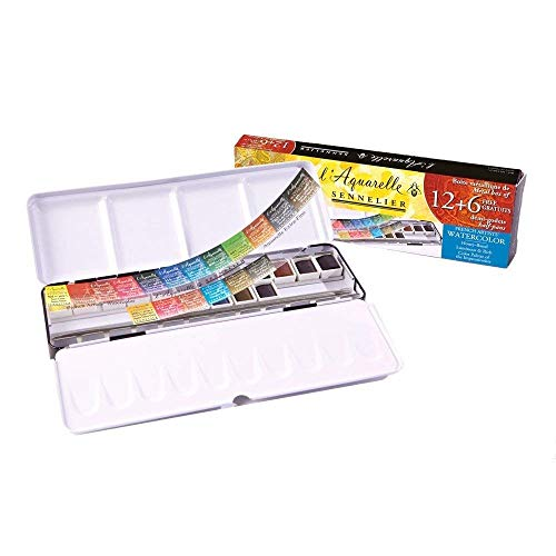 Sennelier LAquarelle French Honey Watercolor product image