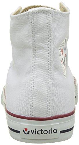 victoria Unisex-Erwachsene Botin Basket autoclave Hausschuhe, Schwarz, 42 EU Weiß (Blanco)