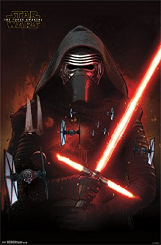 Star Wars The Force Awakens Empire Kylo Ren 22x34 Poster