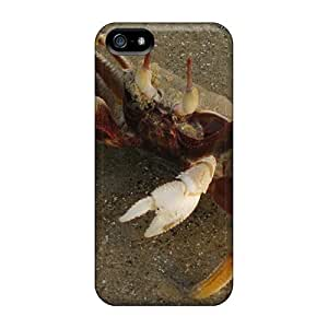 Iphone 5/5s Hard Back With Bumper Cases Covers Mr Crab