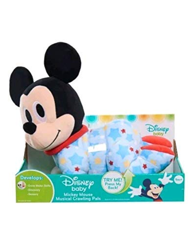 (Disney Baby Mickey Mouse Musical Crawling Pal Plush Doll)