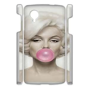 Google Nexus 5 Cell Phone Case White Marilyn Monroe AFK355495