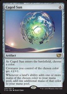 Sun Commander - Magic: the Gathering - Caged Sun (233/337) - Commander 2014