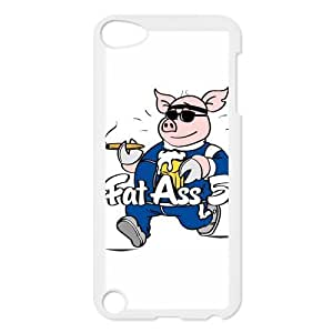 iPod 5 Case,FatAss Pig Hard Snap-On Cover Case for iPod Touch 5, 5G (5th Generation)