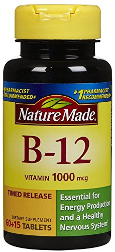 Nature Made, Vitamin B-12 1000 mg, 75 ct