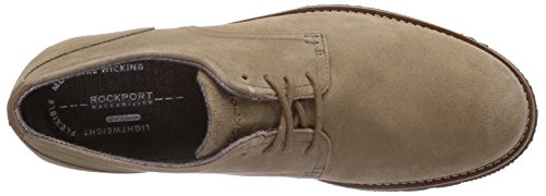 Beige New Lh2 Rockport Derby Plaintoe Homme Vicuna Oxford 6xq4v