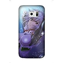 Samsung Galaxy S6 Edge Plus/S6 Edge+ Case, Premium TPU Cover [Durable] Soft Rubber Silicone Back Cover Smooth Design Neon Genesis Evangelion Anime Case For Samsung Galaxy S6 Edge Plus/S6 Edge+ Design by [Shella Smith]