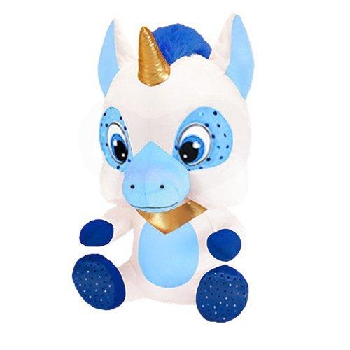Ursula The Unicorn 10.5 in Plush Collectible Toy Blue White RetailSource Ltd 3-664-BLU