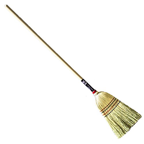 (LaPrima Shops Authentic Hand Made All Broomcorn Broom (54-Inch/Light))