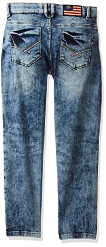 US Polo Association Baby Boy's Slim Fit Jeans 2021 June Care Instructions: Machine Wash Fit Type: Slim Med Blue