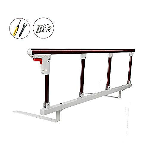 Bed Safety Rails for Toddlers Children Adults Elderly (Dark red-high) from healthyboy