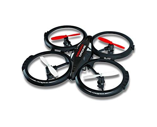 Silverlit - 15600 - Drone - DEMON DRONE - 4 Canaux Gyro - 2,4 Ghz