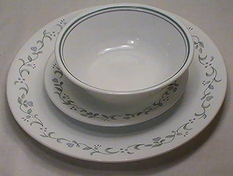Corning Corelle Country Cottage Dinnerware - Set of 12 Pcs. & Amazon.com | Corning Corelle Country Cottage Dinnerware - Set of 12 ...