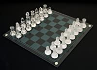 Etched Glass Chess Set