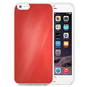 NEW Unique Custom Designed iPhone 6 Plus 5.5 Inch Phone Case With Simple Red Angled Gradient_White Phone Case wangjiang maoyi