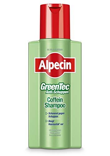 Alpecin GreenTec Anti-Schuppen Shampoo, 2 x 250 ml - Die schonende Lösung bei schuppender Kopfhaut