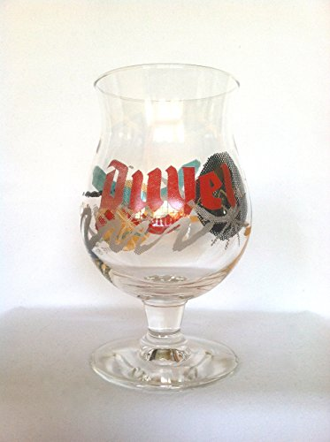 Duvel Beer Glass Mike Perry Swirls (Duvel Artist Collection)