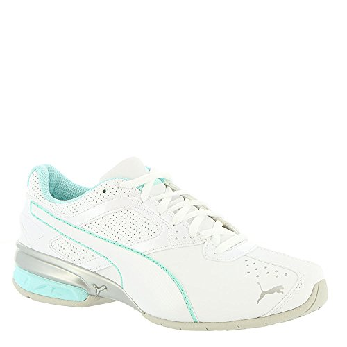 PUMA Women's Tazon 6 Wn Sneaker, White-Island Paradise Silver, 6.5 M US Review