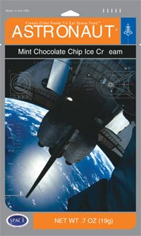 American Outdoor Products Astronaut Ice Cream, Mint Chocolate Chip, 0.7 Ounce (Pack of 10)