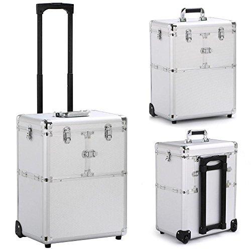 Best makeup organizer suitcase with mirror
