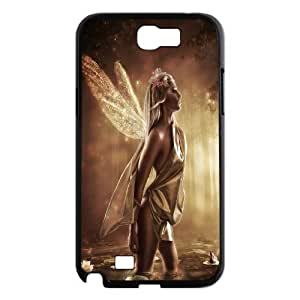 Samsung Galaxy Note 2 Case Fairy Sexy Girl in Pond Black Yearinspace YS366908