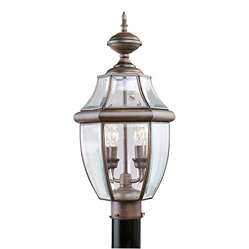 Livex Lighting Monterey Outdoor Post Head in Imperial Bronze - 2254-58 supplier_id_shop_freely ,ket180131176397574 by itonotry