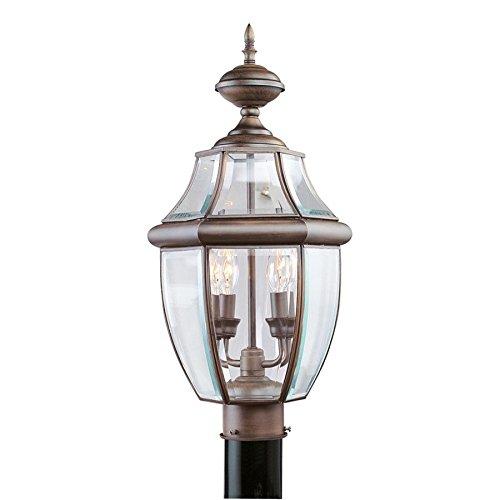 Livex Lighting Monterey Outdoor Post Head in Imperial Bronze - 2254-58 supplier_id_shop_freely ,ket180131176397574