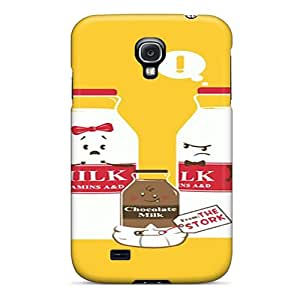 For Galaxy S4 Tpu Phone Case Cover(milk Family)