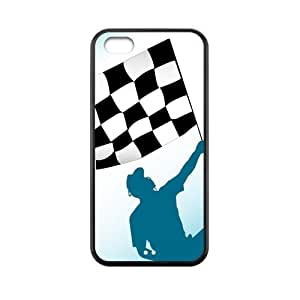 MMZ DIY PHONE CASEAuto Racing Flag Customized Funny Printed Protective for iphone 6 plus 5.5 inch TPU (Silicone + Plastic) Best case, FiveWorldShop