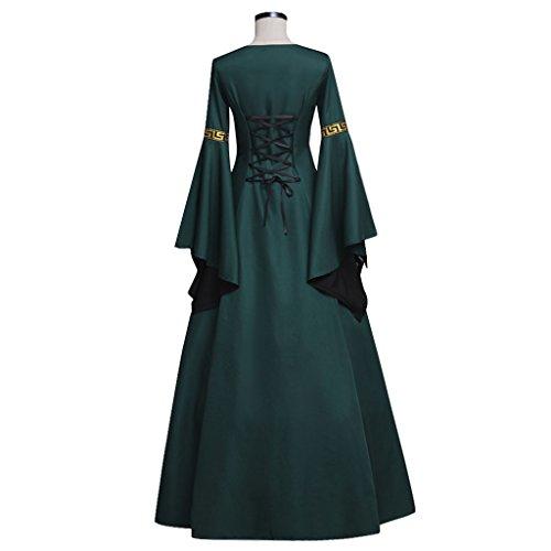 Dunkelgrün Palace Kleid Kostüm Viktorianischen Kleid Dunkelgrün Ballkleid Mittelalterliches Gothic Cosplayitem Kleid Kleider Damen 6g4HqH