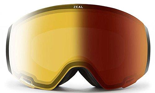 ffe37041a6ae Zeal Optics Portal Goggle - Dark Night Frame with Automatic YB Sky Blue Mirror  Lens