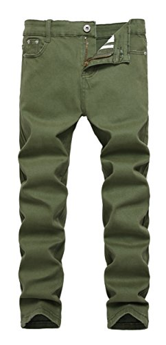 Boy's Skinny Fit Stretch Fashion Jeans Pants