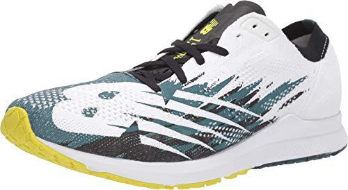 New Balance Men's 1500v6 Running Shoe, Supercell/White, 10.5 D US