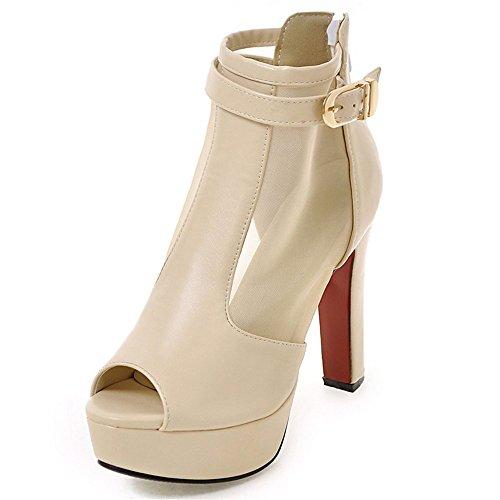 Fashion HeelSandals - Zapatos con tacón mujer Beige