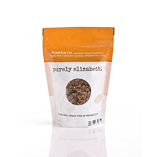 Purely Elizabeth Ancient Grain Granola, Pumpkin Fig, 12 Ounce (Pack of 3)