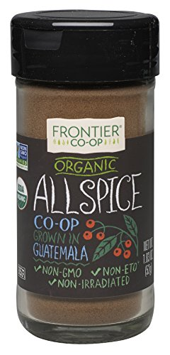 Frontier Nutmeg Ground (Frontier Allspice Organic Powder, 1.83 Ounce)