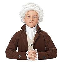 California Costumes Colonial Man Wig Disfraz De Niño, ACC
