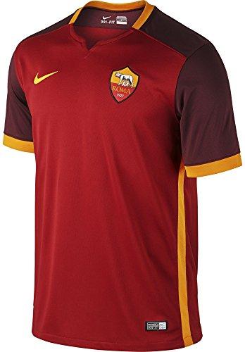 Nike Mens Roma Home Stadium Jersey [TEAM RED]