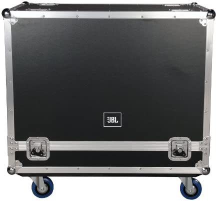 JBL Bags JBL-FLIGHT-PRX612M Flight Case for (2x) PRX612M 1/2-Inch Plywood Construction and 3.5-Inch Casters Truck Pack Exterior