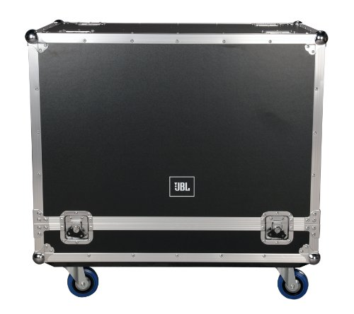 JBL Bags JBL-FLIGHT-PRX612M Flight Case for (2x) PRX612M, 1/2-Inch Plywood Construction and 3.5-Inch Casters, Truck Pack Exterior by JBL Bags