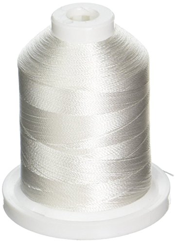 Robison-Anton Rayon Super Strength Thread, 1100-Yard, Snow White