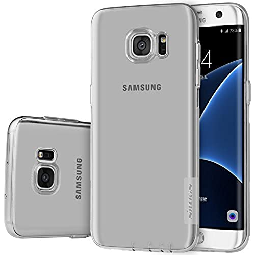 Samsung Galaxy S7 Edge Case,Nillkin[Transparent Thin Soft]Nature Series TPU Case Back Cover for Samsung Galaxy S7 Edge -Retail Package Grey Sales