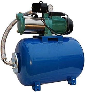 Bomba de jardín bomba de jardín para pozo 1100 W, 230 V, 95L/min + Balón Soplante 80 L: Amazon.es: Bricolaje y herramientas