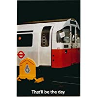 London Underground - That'll Be The Day 1984 - LU119 Satin Paper A4 Size