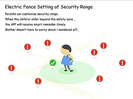 Amazon.com: Ano Q90 GPS Tracker Smart Watch Niños Ancianos ...