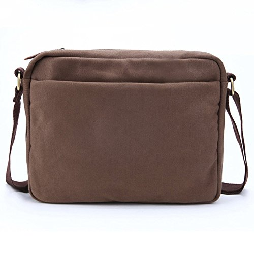 Man Men's Shoulder Vintage Messenger 3013 Canvas Cross body Bag Yiy Leather Over SYdw7Yq