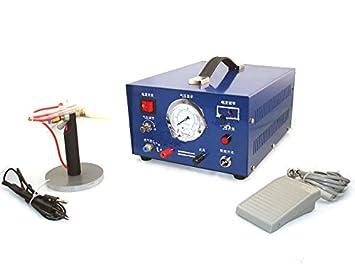 Joyería GOWE máquina de seguridad para soldar soldador Argon sparkle, 220 V máquina de seguridad para soldar joyas: Amazon.es: Bricolaje y herramientas